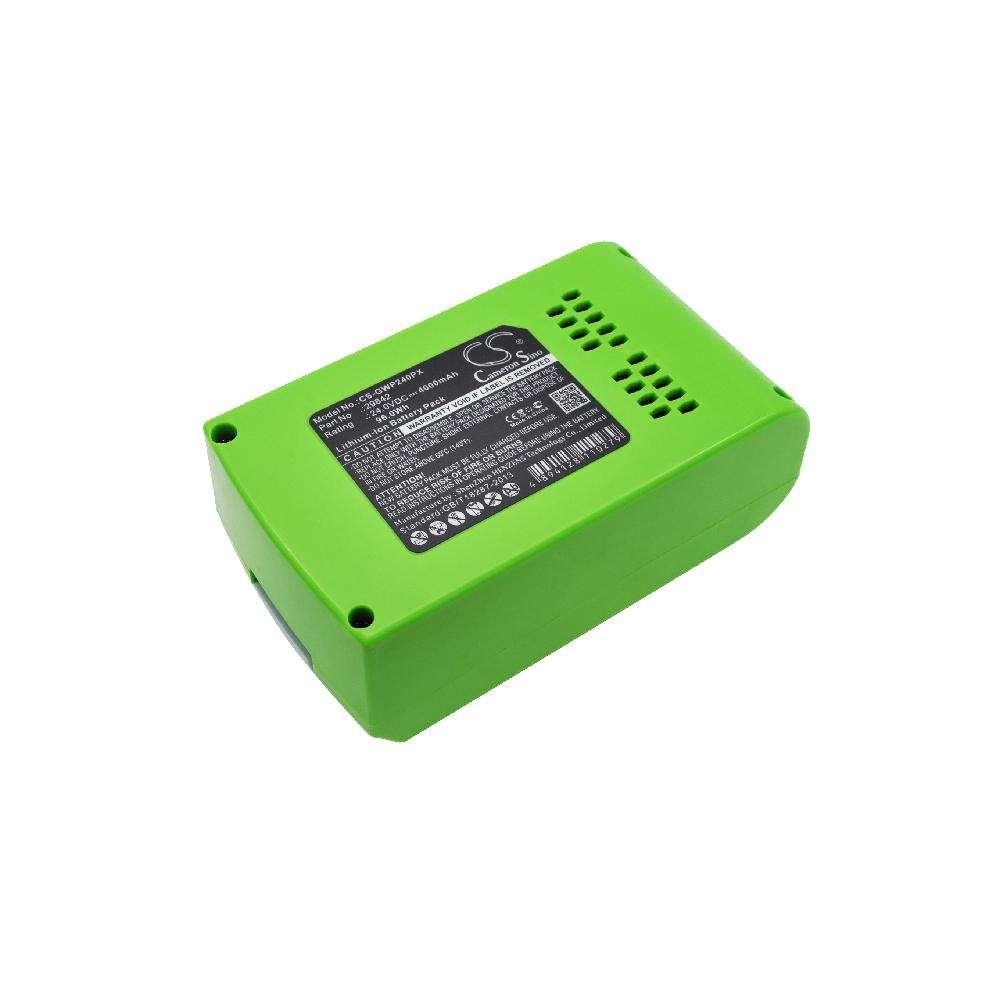 AKKU-LADEGERÄT für Greenworks 10-Inch Cordless 130MPH Cordless G24 Sweeper