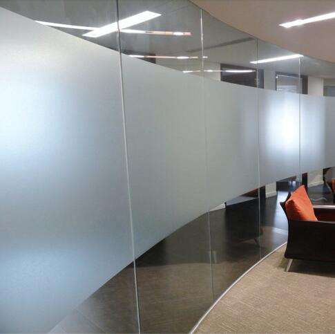 Pvc Glass Privacy Film Clear Self Adhesive Pvc Window Film for Advertising
