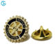Badge Maker Factory Hard Gear Shaped Rotary Club Pin With Logo