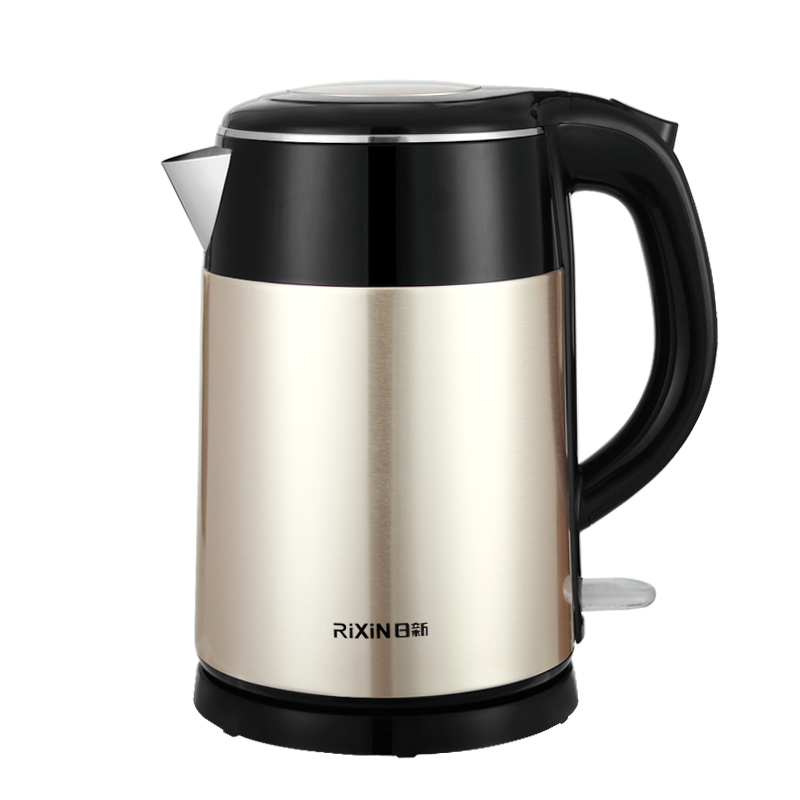 1.5L Stainless Steel Best Price Double Wall Coffee Pot Electric Kettle Home Appliance Portable Water Boiler