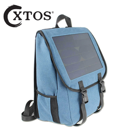 XTOS Solar backpack outdoor cycling power generation solar travel bag mountaineering backpack