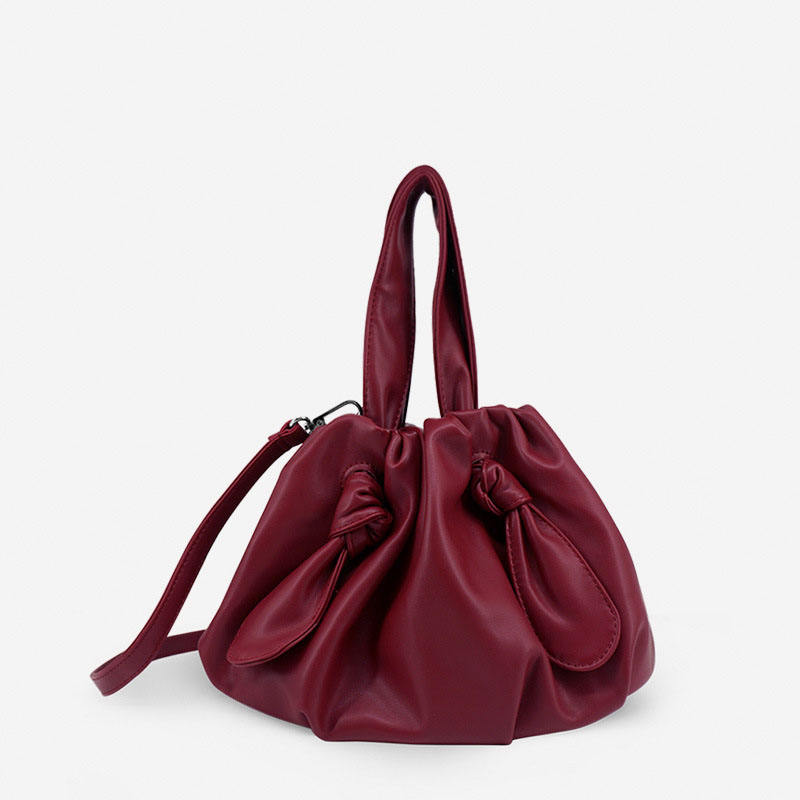 EG051 China ladies bucket bags soft leather forever young handbags
