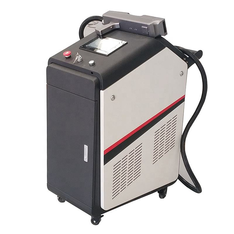 paint rust removal 200w 500w automobile car fiber laser cleaning machine