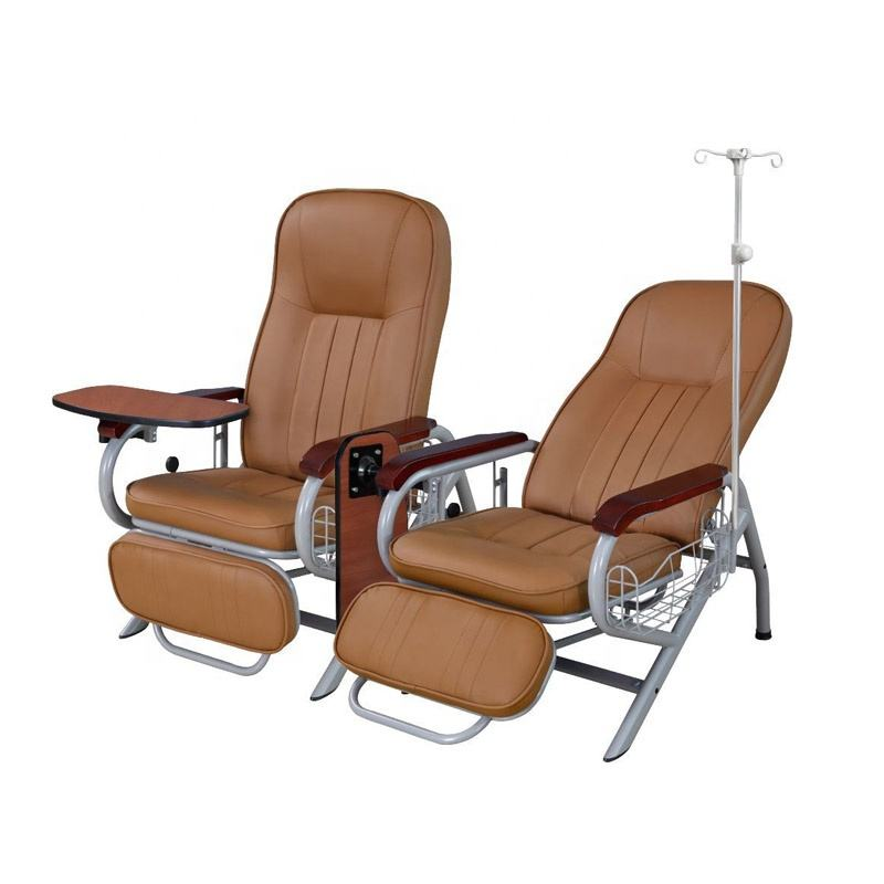 CE Marked Hospital Manual Electric Luxurious Dialysis Chair Price For Medical Blood Center