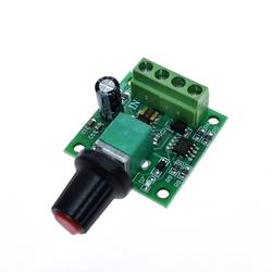 PWM low voltage 1.8V-12V motor governor switch 2A knob with
