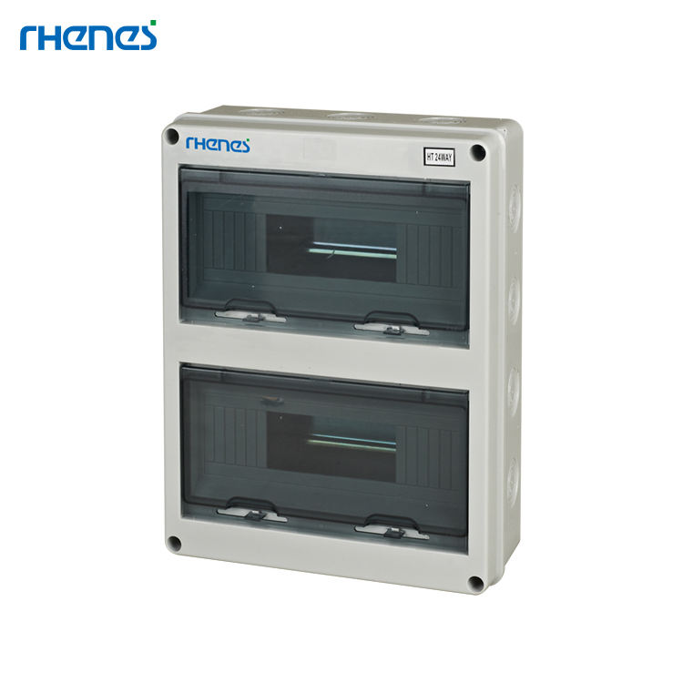 Super Quality Electrical Equipment IP65 24 Ways ABS Plastic MCB Power Distribution Box