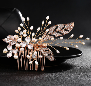 Top Seller 2019 Hot selling on Amazon bridal hair accessories For Women