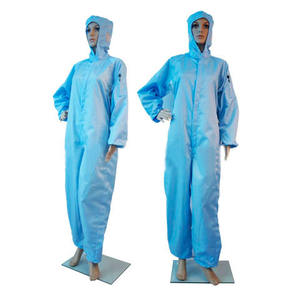 Cleanroom Antistatische Wasbare Overall Esd Werkkleding Antistatische Kleding Overall Uniform