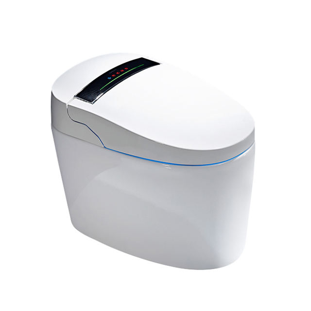 High Quality Bathroom One Piece Siphonic Wc Modern Ceramic Luxury Smart Intelligent Automatic toilet