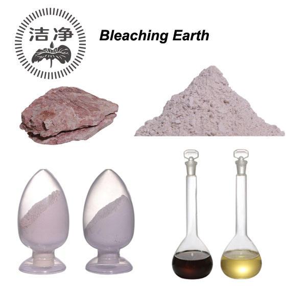 Terra sbiancante attivata di grado alimentare di argilla bentonitica Fuller per la raffinazione dell'olio di pesce