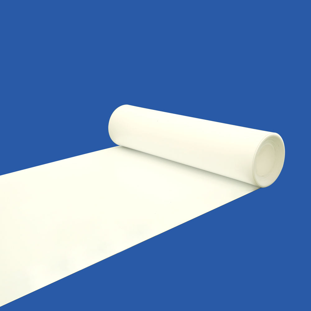 Filled White Plastic PTFE Sheet