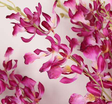 High quality Factory direct sales dance orchid simulation flowers home living room decorative supplies for weeding