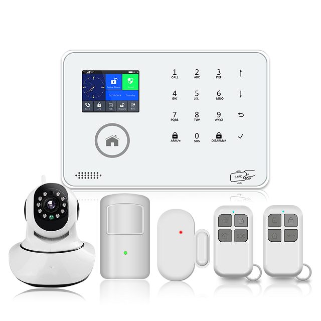 Bailing BL-6600 wireless WIFI GSM 3G touch screen universal home burglar alarms support APP remote control