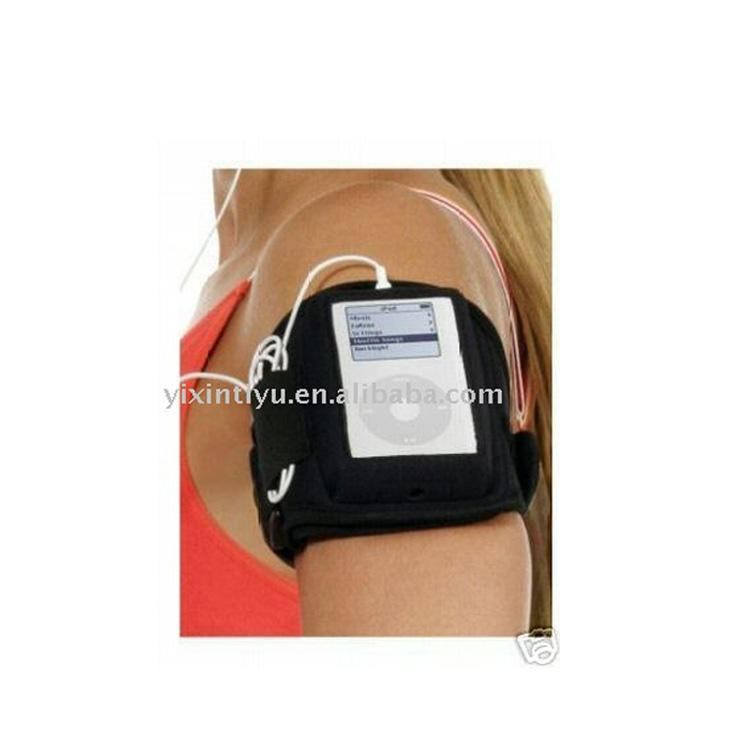 Neoprene PVC phone case belt with pouch for sporting running