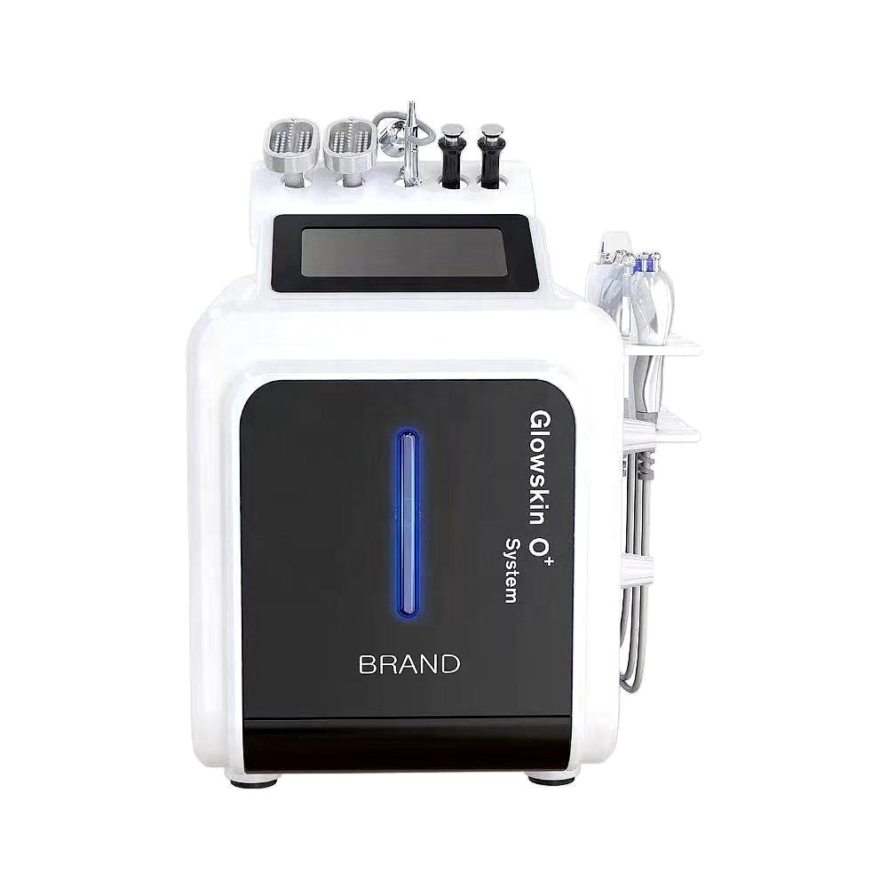 10 in 1 Multifunction Skin Care Diamond Microdermabrasion Hydra Oxygen Facial Machine