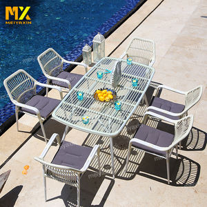 MX best selling cheap white french bistro wicker garden rattan chair