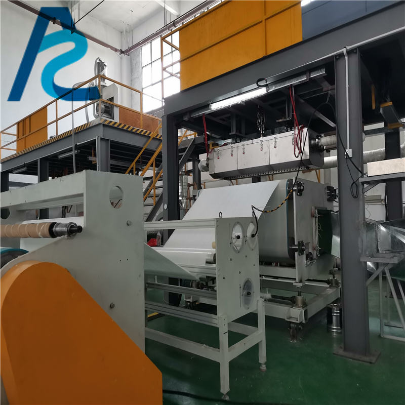 3200ミリメートルMeltblown Nonwoven Fabric Making Machine BFE 95とMeltblown Production LineためEquipmentフィルター紙