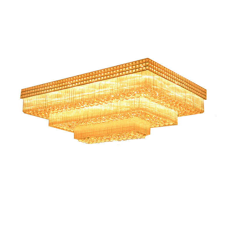 Modern Luxury LED K5 Crystal Ceiling Light