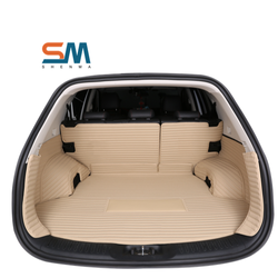 High Quality rubber car mat luxury car trunk mats