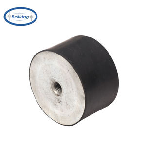 Oil and corrosion resistant anti vibration rubber pad rubber mounts