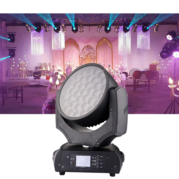 Dj equipment robe robin 600 37*10w led stage light RGBW led moving head zoom wash light