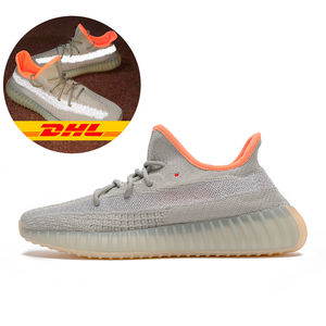 Original Yeezy Desert Sage Running Shoes Sport Shoes Sneakers Gift Shoes Earth Original Logo Boxes Size US 3.5-12.5 350