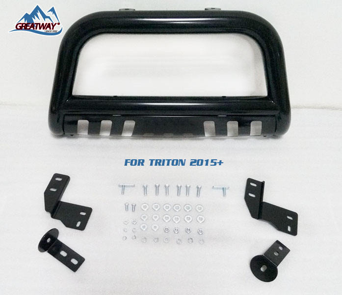 "High quality 3"" bull bar nudge bar front bumper guard for MITSUBISHI TRITON PAJERO V97 2007"