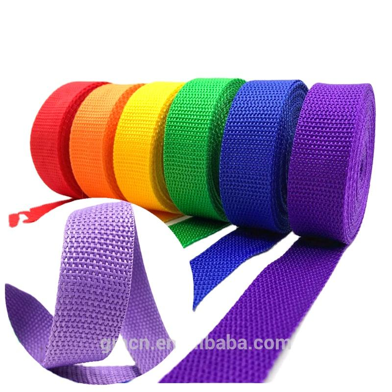 Hot sale pp webbing durable sofa luggage strap webbing dog leads polypropylene webbing woven strap custom
