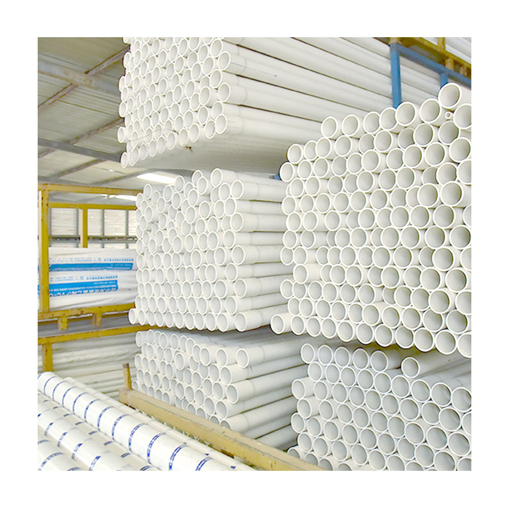 China 5.9m Length Custom-Made Factory Outlet PVC Pipe Price List Agricultural Pipes for Water Drainage 200mm 700mm UPVC Pipe