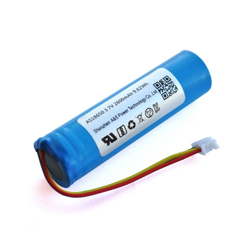 Rechargeable 3.7V Icr18650 2000mAh 2200mAh 2400mAh 2600mAh 18650 Lithium Li-Ion Battery