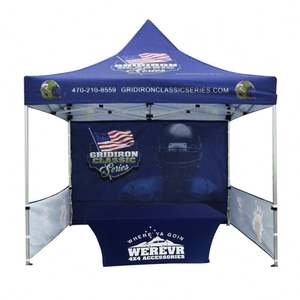 Instant Outdoor Canopy Fast Open Advertising 3X3M Gazebo Tent