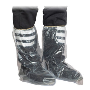 Transparent Clear Custom Elastic Disposable Rain Boots Waterproof Shoe Covers
