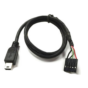 DuPont cable 2.54mm 5 pin motherboard hembra a mini USB macho cable