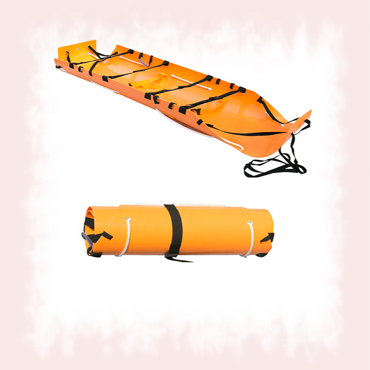 M-RS01 Multifunction Plastic Rolled Rescue Stretcher
