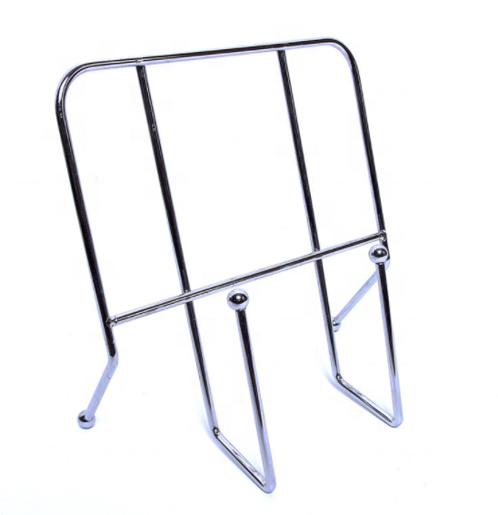 Wholesale Metal Book Stand Tray und Book Display Holder für Desktop