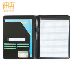 Groothandel Professionele A4 Custom Business Padfolio Portfolio Organizer Interview Map Met Notepad