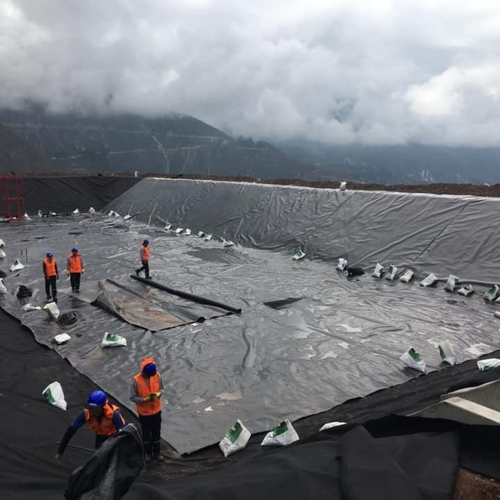 Epdm Pond Fish Price Rolls Waterproof Membrane Ldpe Sheet Plastic Root Barrier Manufacturer Hdpe Geomembrane Liner