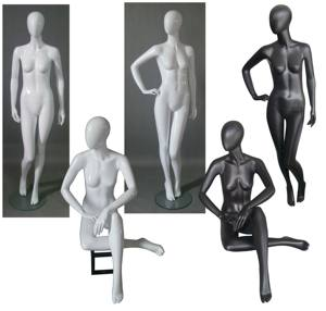 Most popular female display mannequin for women apparel display