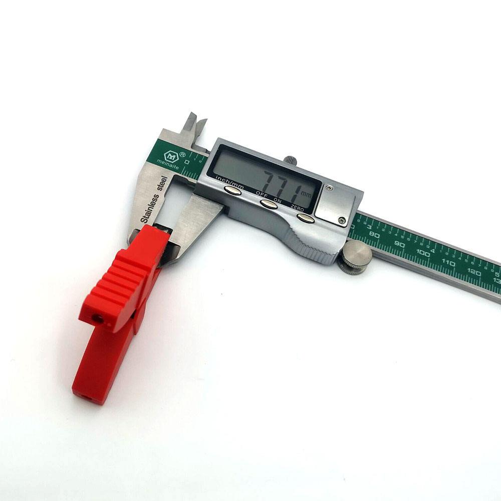 65 мм 5A, электрическая распределительная пластиковая медным покрытием Авто Резиновые зажимы типа «крокодил»