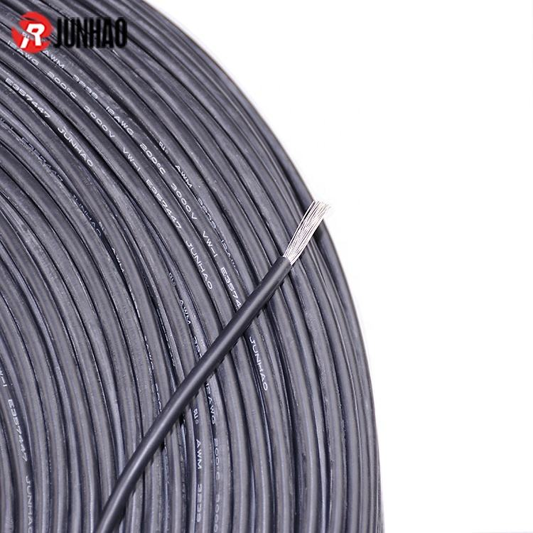 Low Price ul3239 High Temperature Cable 200 Degree 12AWG Silicone Rubber Coated Electrical Wire 3.5mm