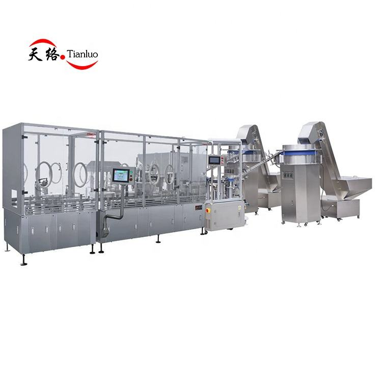 Fully auto infusion sets assembly machinery
