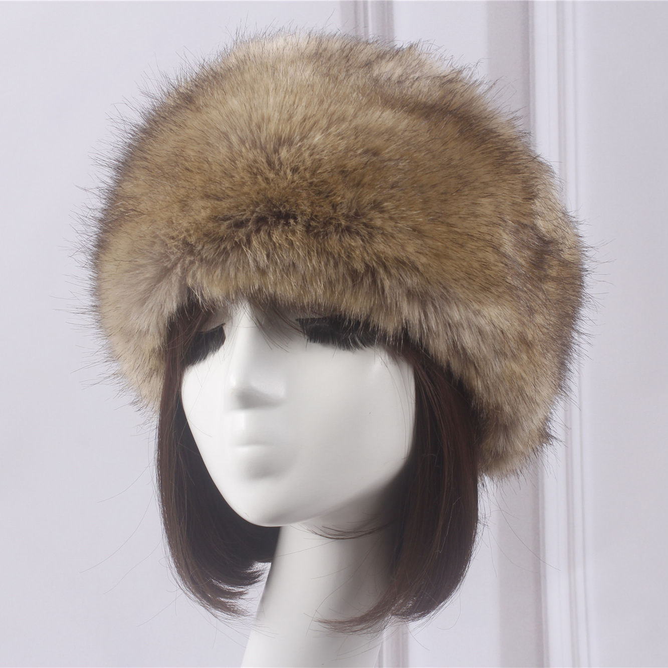 New Arrive Wholesale Winter Womens Russian Warm Faux Fur Headband