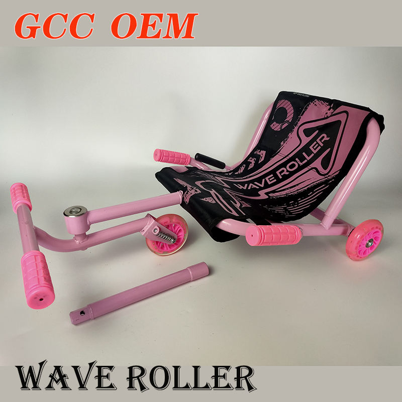 cheap wave roller three wheels scooter kids scooter swing kick scooter with GCC