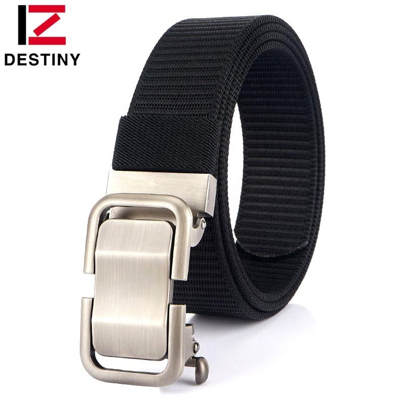 2020 Hot sale Custom Fashion Automatic Buckle Military Men Designer Nylon Fabric Tactical belt
