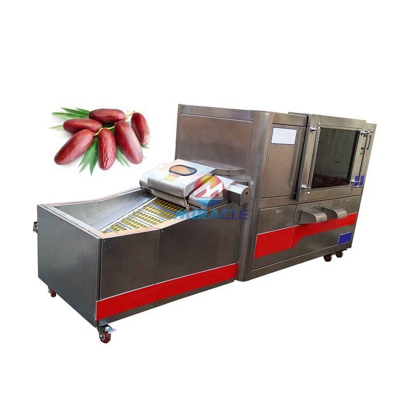 Deglet noor dates pitting machine price, date palm pitter machine for sale