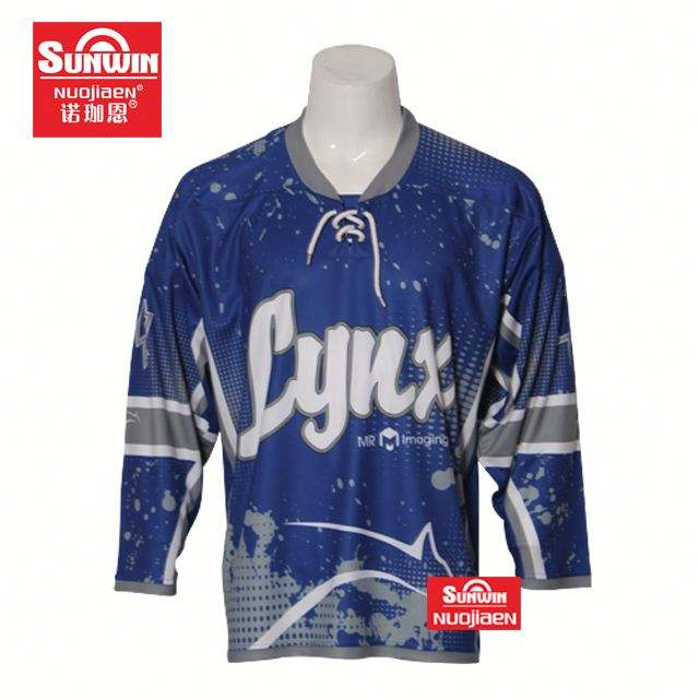Small MOQ New Arrival hockey jersey