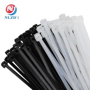 NLZD China Self-Locking Nylon Kabelbinder Wrap Kunststoff Draht Verbindlich Riemen Zipties