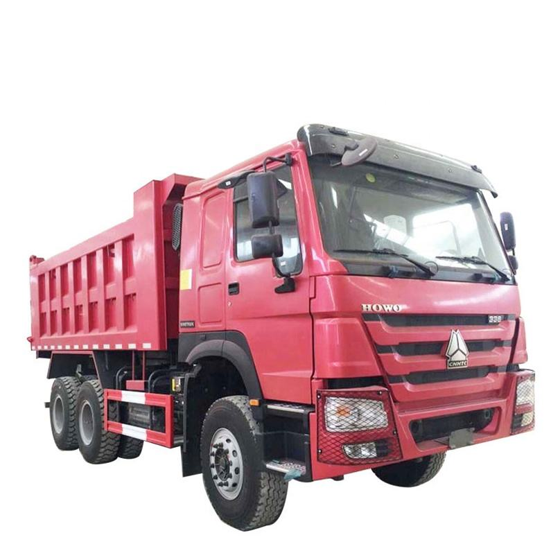 used dump truck tipper truck 6x4 20cbm Left hand drive for sale