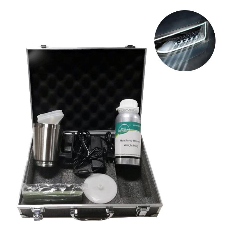 Permanent Professional Head Lamp Restoration Renew Kit/Headlight Restoration Kit
