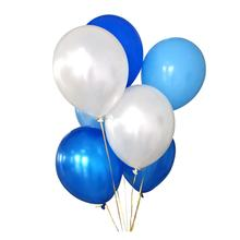 Perfectly Round Biodegradable 12 Inch Latex White Balloons